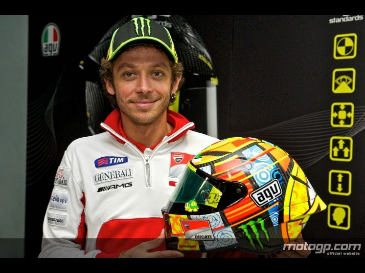 Valentino and the new AGV