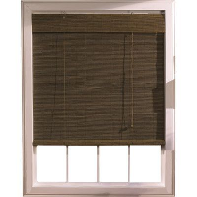 Bay Isle Home Outdoor Bamboo Roll Up Blind Wooden Window Blinds House Blinds Blinds