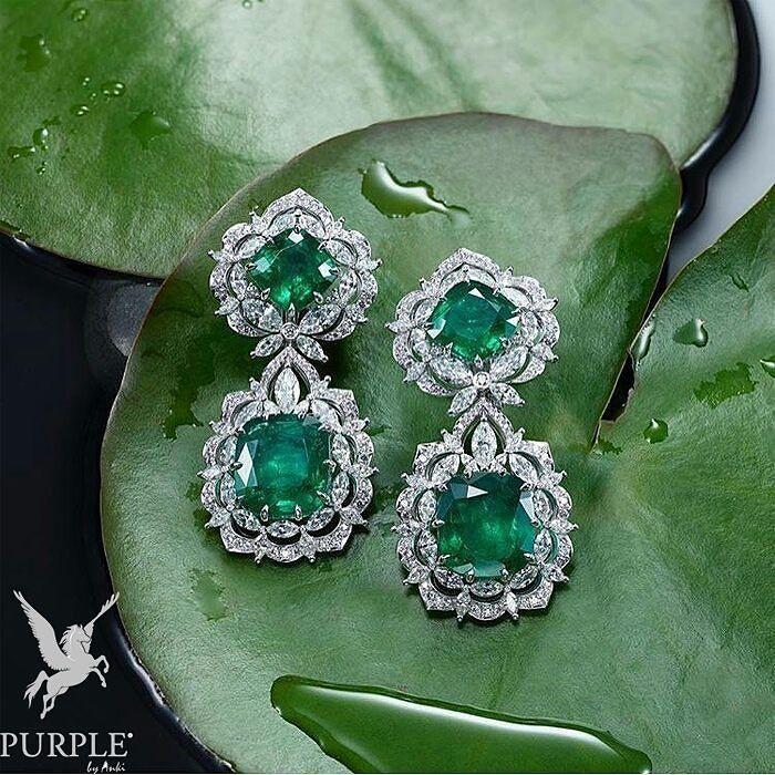 6dd7a30df Chopard | Diamond earring in 2019 | Jewelry, Emerald earrings ...