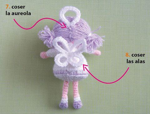 Tutorial Amigurumi Pinguino : Tutorial: ángel amigurumi crochet uncinetto angeli pinterest