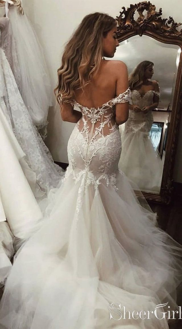 Boho wedding maxi dress crochet deep v plunge mermaid slit gipsy lace hippie wedding goddess Pitbull Timber Dress