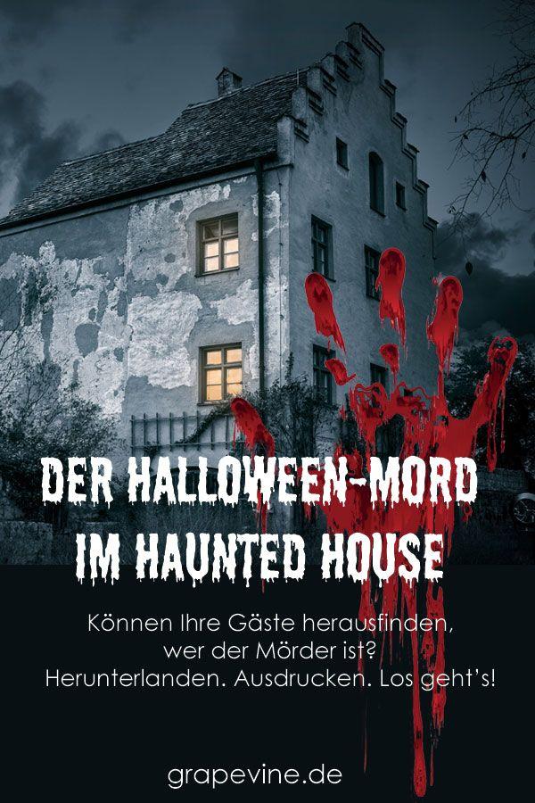 Halloween Mordrätsel