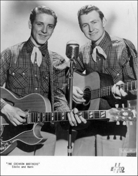 Image result for hank and eddie cochran