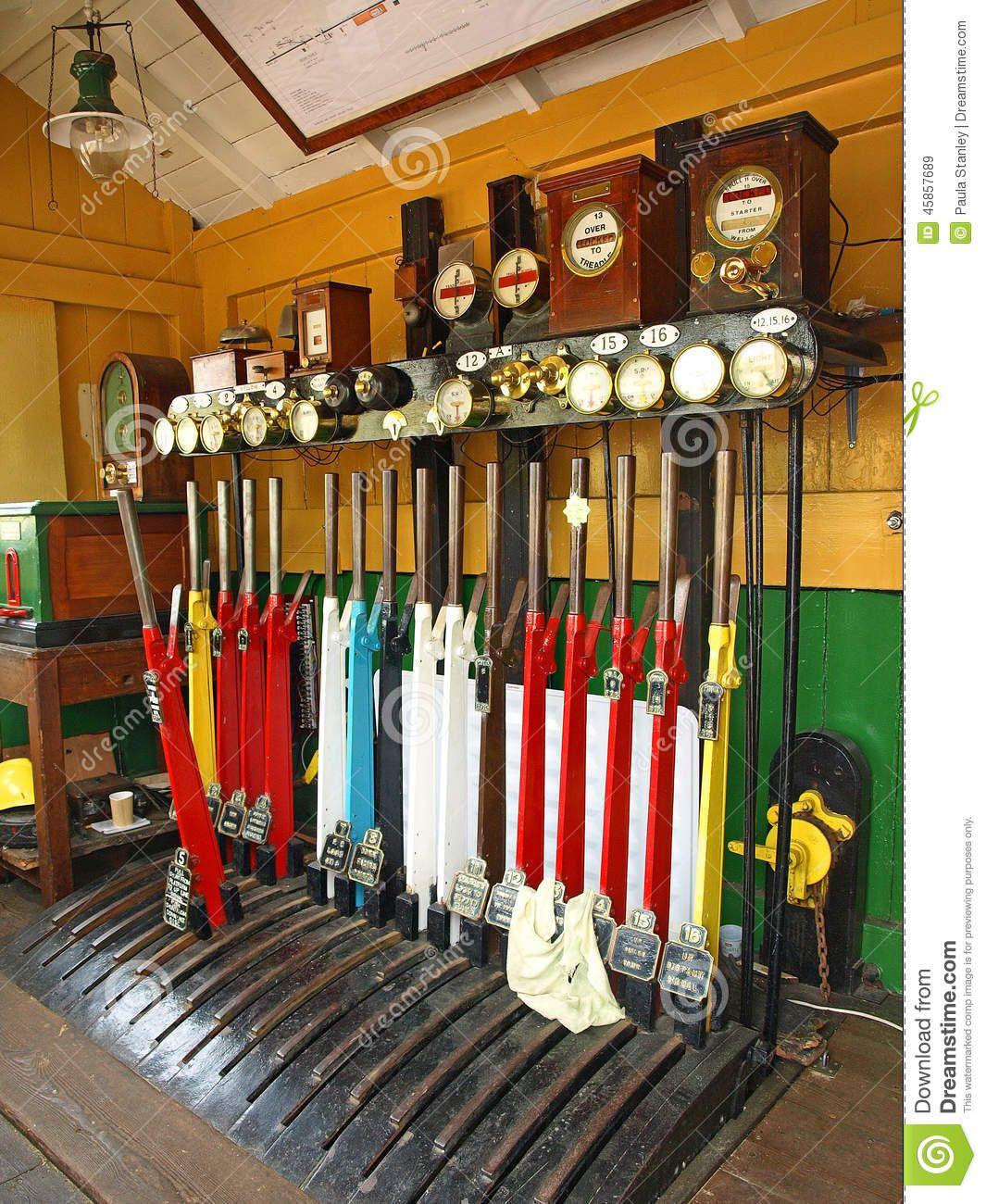Washford station signal box, Somerset.