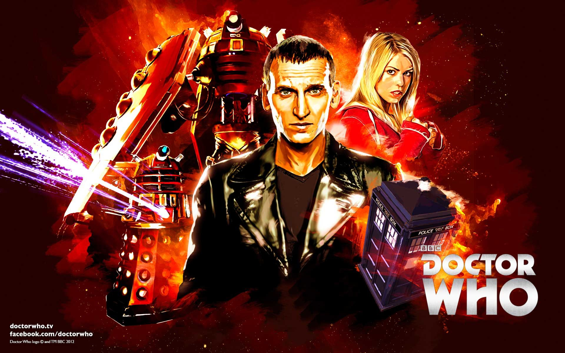 to celebrate nine years since the arrival of the ninth doctor on our screens we