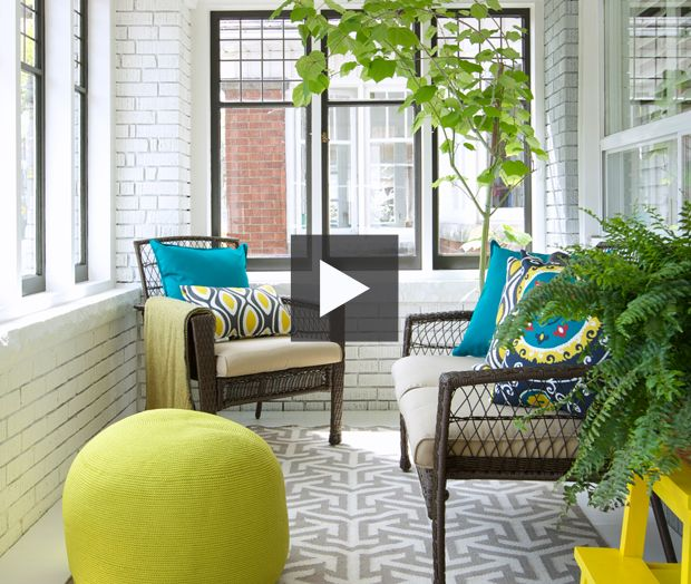 Small Enclosed Front Porch Entry: Enclosed Porches, Porch Makeover
