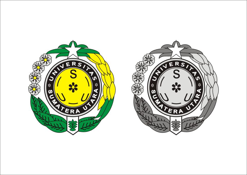 Logo Usu Universitas Sumatera Utara Vector Seni Islamis Motivasi Universitas