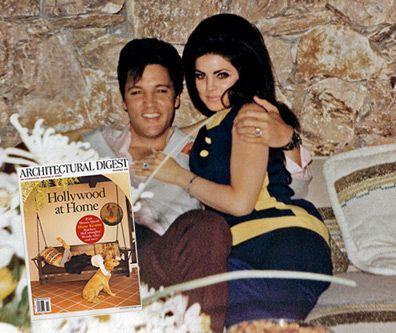 Loved Up Elvis and Priscilla Presley