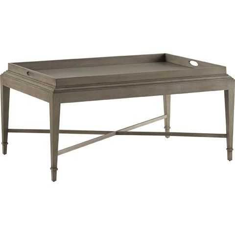 Wonderful Baker Furniture   Rectangular Tray Coffee Table   3451