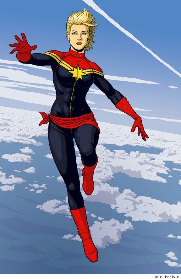 captain marvel x reader