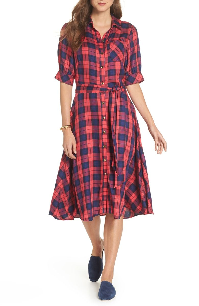 Free shipping and returns on 1901 Plaid Shirtdress at Nordstrom.com. If the  breezy plaid fabric of this classic shirtdress doesn t have you grabbing it  ... 38eccd1a831d