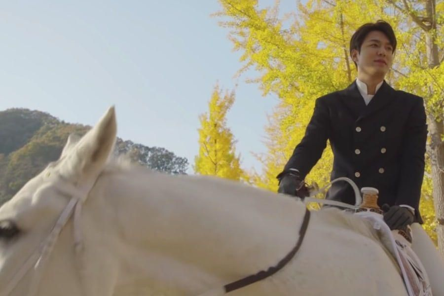 "Watch: Lee Min Ho Is Full Of Affection For His Horse Co-Star Maximus In ""The King: Eternal Monarch"""