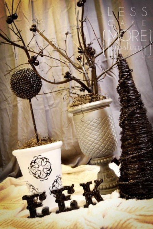 50 Ideas For Elegant Black And White Halloween Decor DigsDigs - elegant halloween decorations