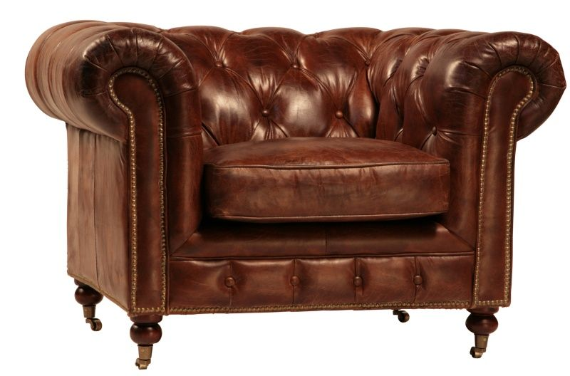 A Leather Club Chair Adds Exclusivity To Any Room Decor Ideas