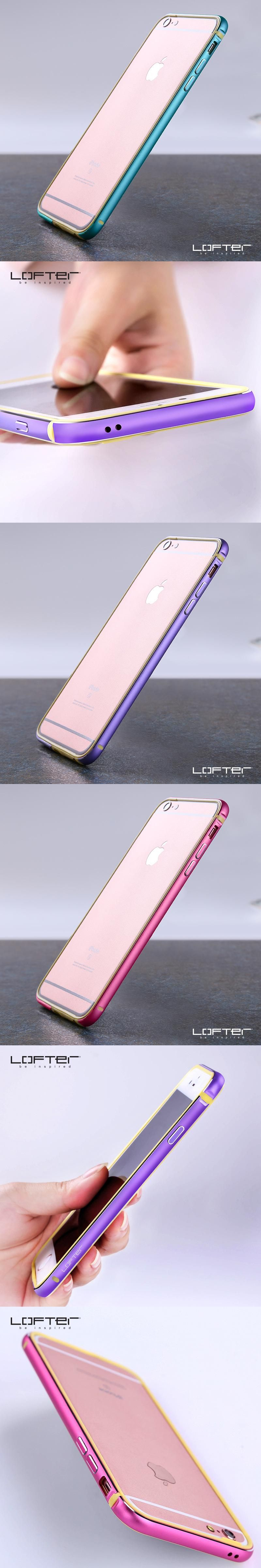 2017 Lofter New Arrival Metal Bumper Frames for iPhone 6 6s 4.7 ...