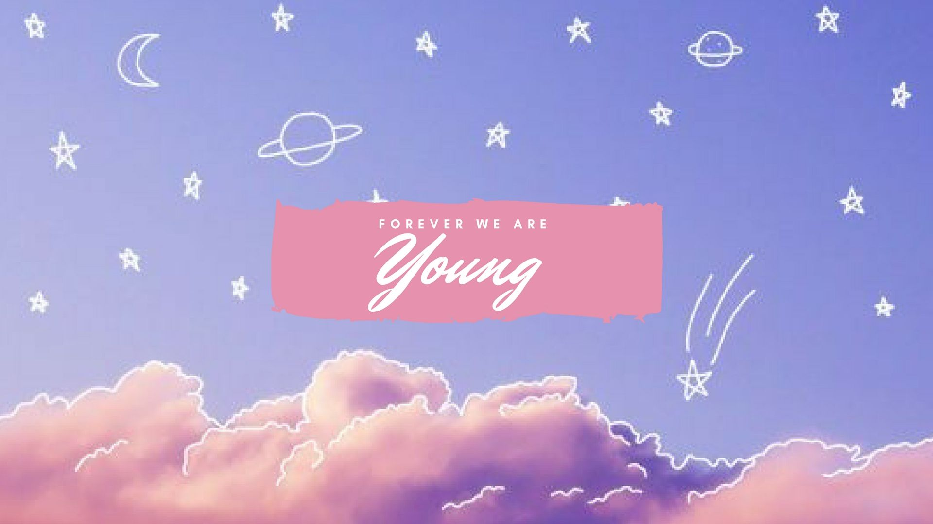 Forever We Are Young Bts Bts Wallpaper For Desktop Computer Bts Cute Desktop Wallpaper Cute Laptop Wallpaper Macbook Wallpaper