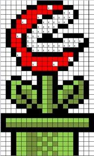 Diy Mario Bros Perle Hama Mario Pixel Art A Imprimer Crochet Mario