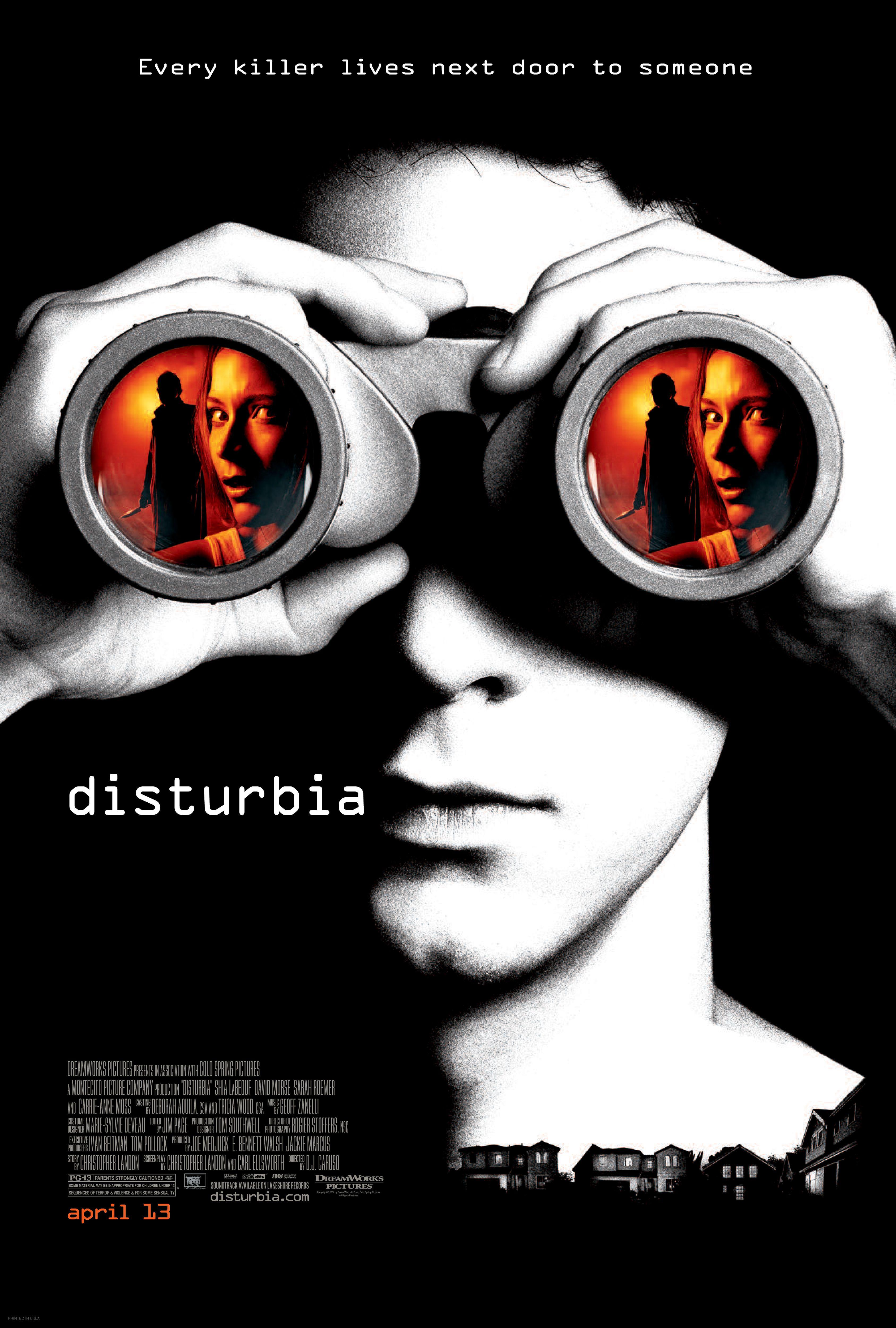 Disturbia 2007 Paranoia Disturbia Film Thriller Movies