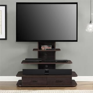 Altra Galaxy 70 Inch Tv Stand With Mount And Drawers Overstock Com