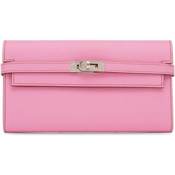 e416b939b9 ... spain pre owned hermes bubblegum pink 5p epsom clutch kelly wallet  palladium 3fc0d 6beb5 ...
