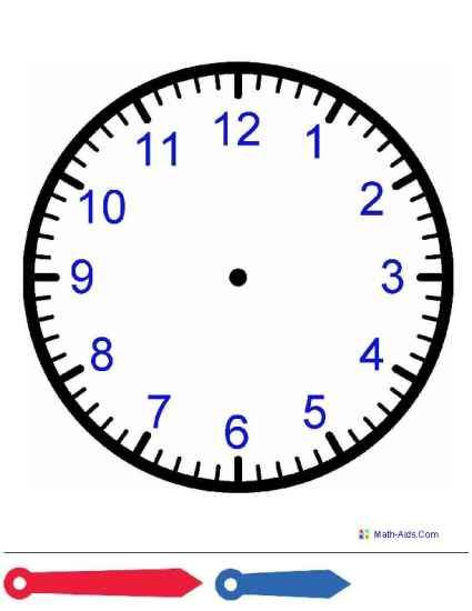 glue clock face to an old cd mount hands using hardware cheap educational clock for teaching. Black Bedroom Furniture Sets. Home Design Ideas
