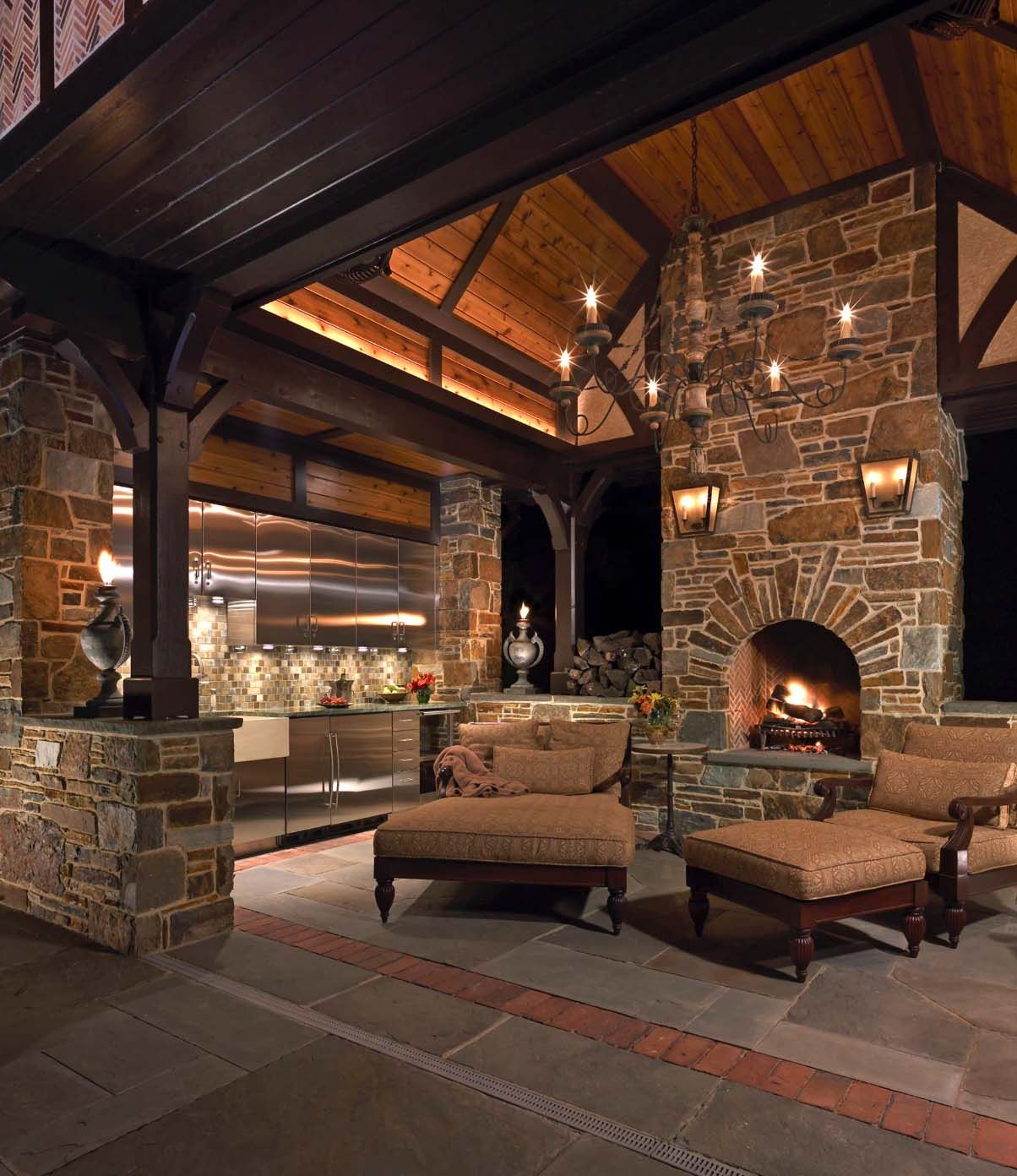 44 Traditional Outdoor Patio Designs To Capture Your Imagination Outdoor Patio Designs Rustic Patio Patio Design Outdoor patio living spaces