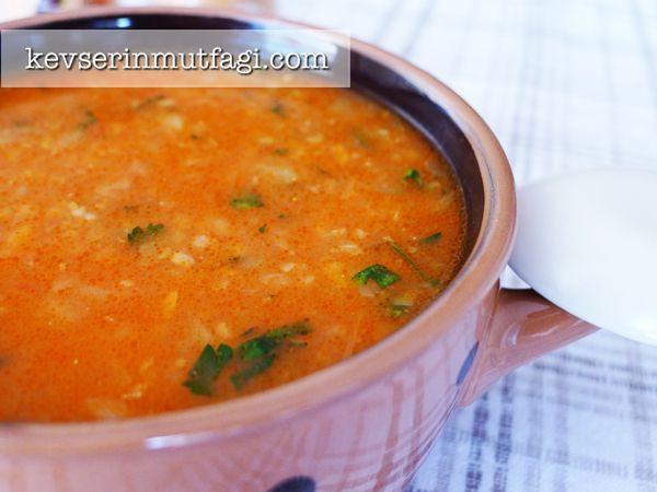 Soupe de boulghour aux légumes - Cuisine à la turque