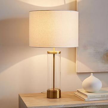 Acrylic Column Table Lamp Usb Floorlamps Modern Table Lamp Table Lamp Lamps Living Room