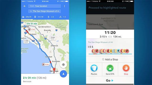 Turn by turn navigation showdown google maps vs waze google turn by turn navigation showdown google maps vs waze gumiabroncs Gallery