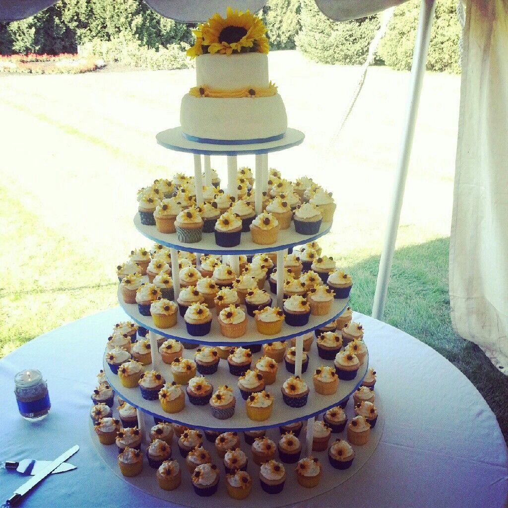 11++ Sunflower wedding cake and cupcakes info