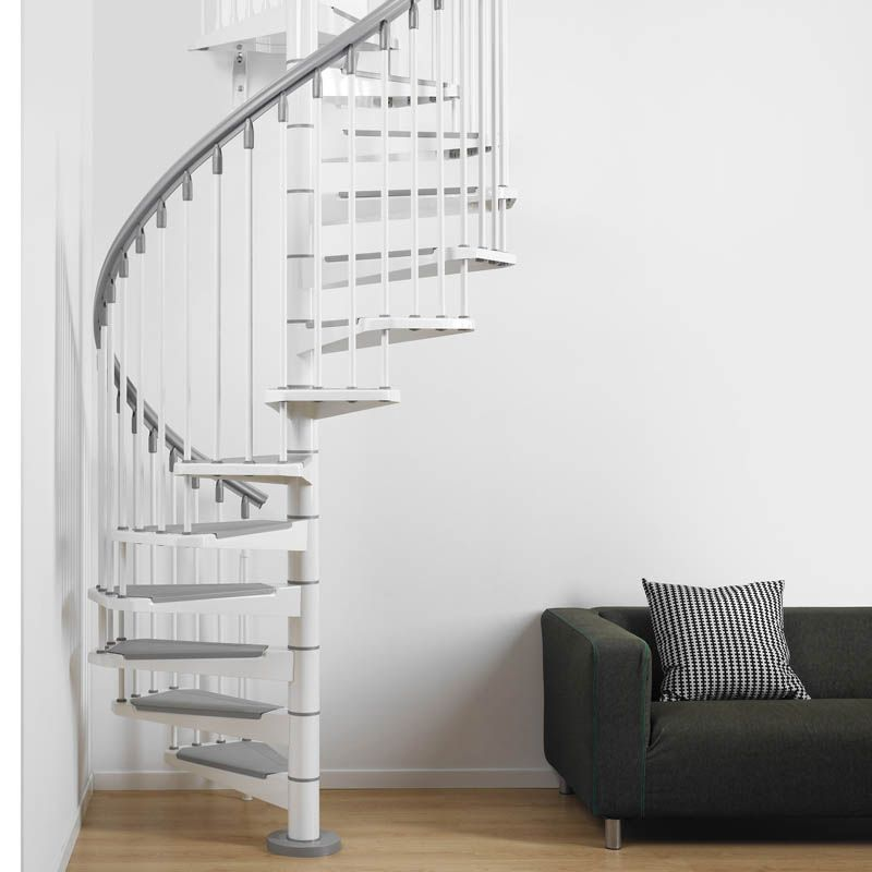 Best Fontanot Stairs Pixima Steel Scala A Chiocciola Scale 400 x 300