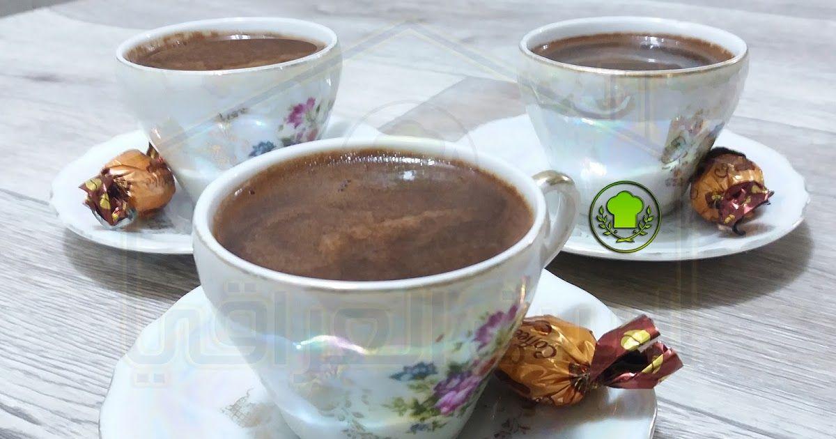 طريقة عمل قهوة وسط بالوجه قهوة تركية وسط يمكنك متابعة طريقة العمل بالتفصيل في الفيديو Tableware Glassware Kitchen