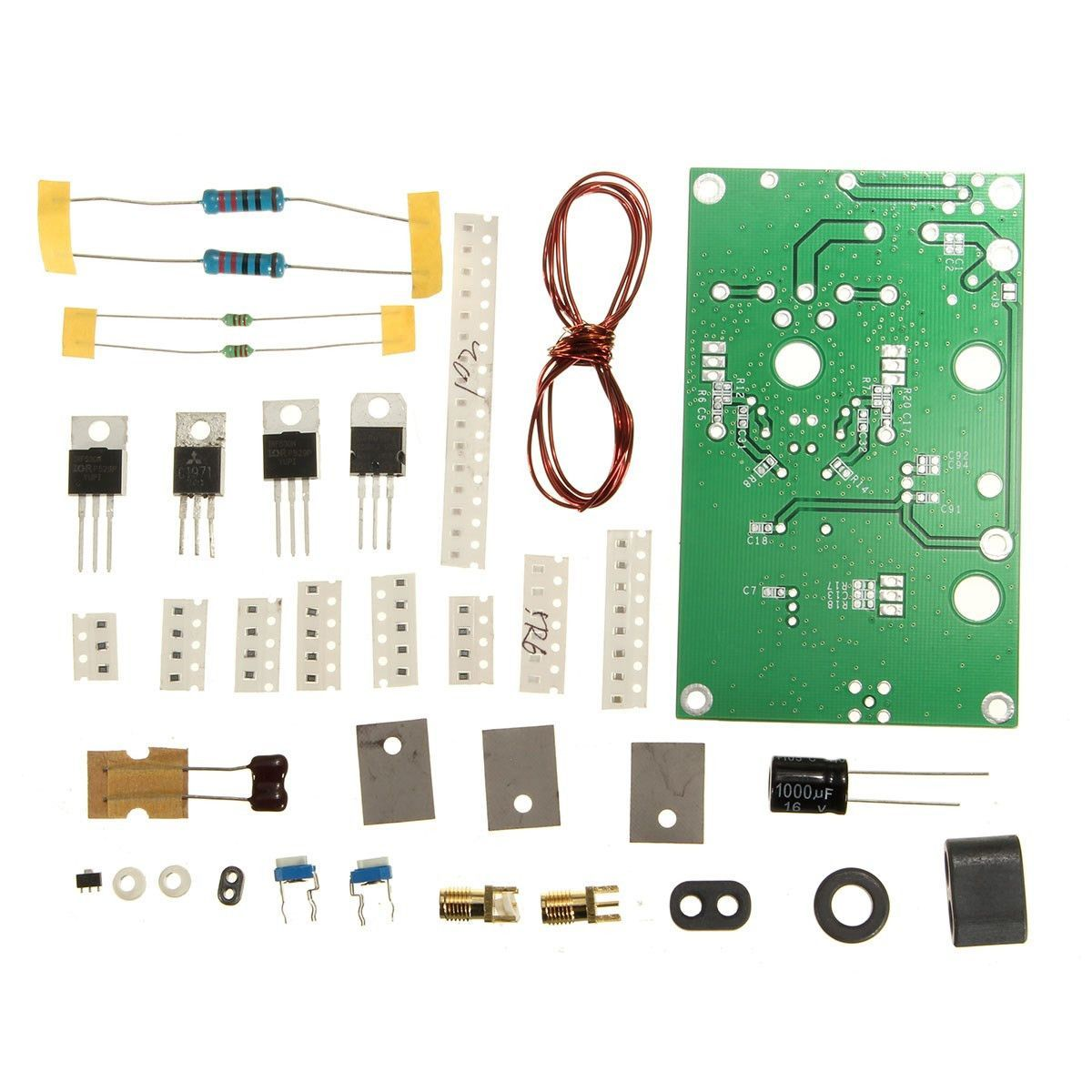 Best Promotion Upgrade 50+W SSB linear Power Amplifier Kits for transceiver Radio HF FM CW HAM Wholesale price