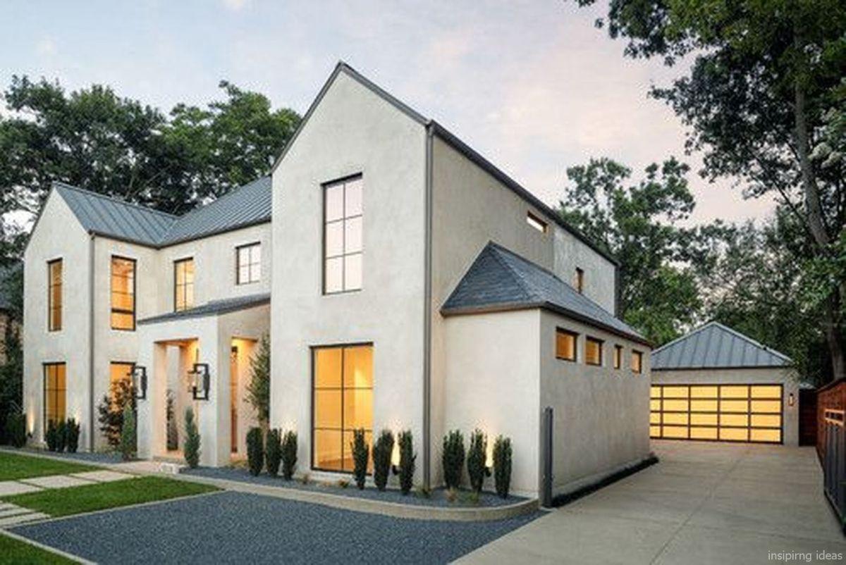 17 Simple Modern Farmhouse Exterior Design Ideas In 2018 Houses - Home-exterior-design-ideas