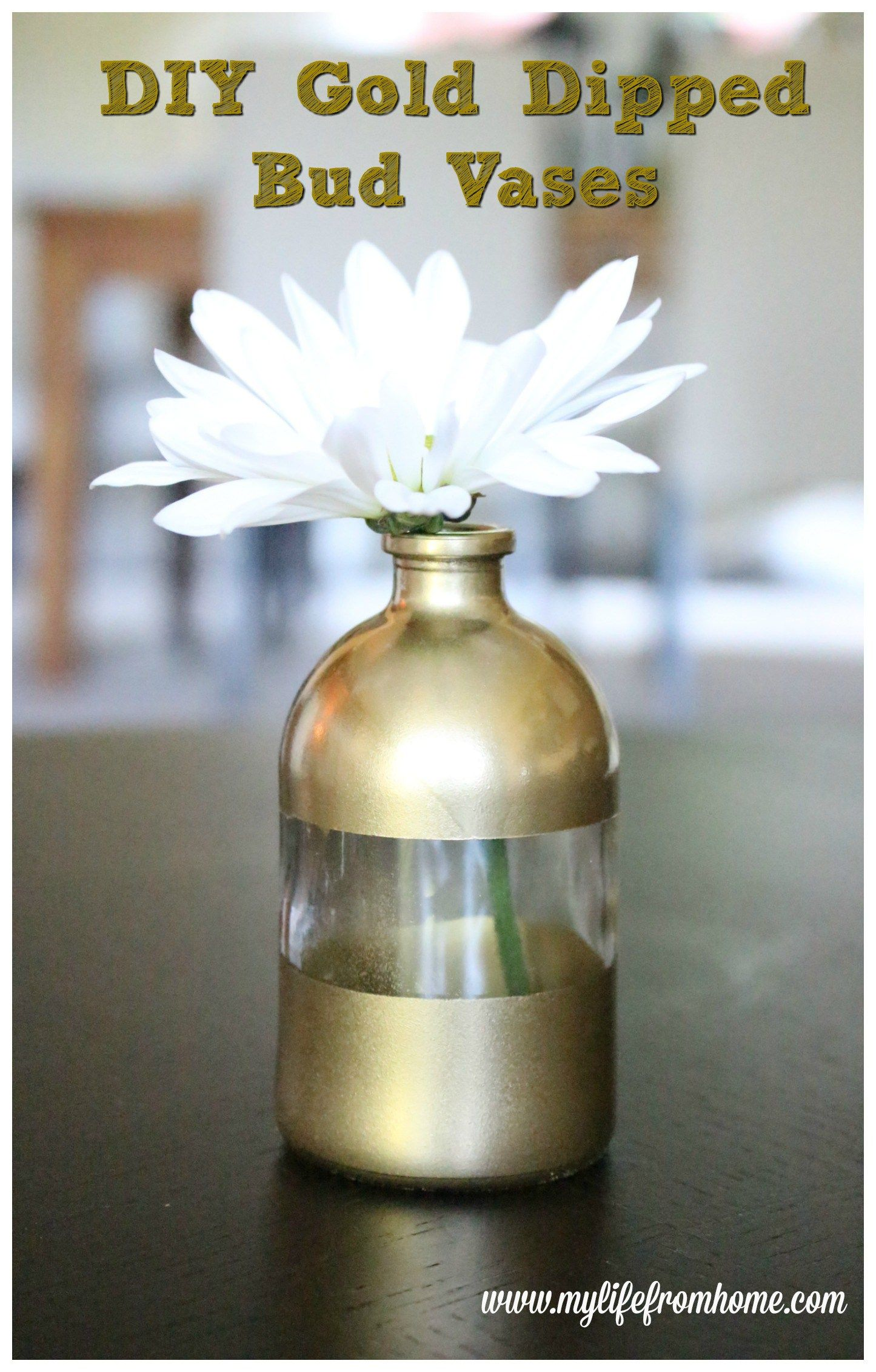 Have You Seen Those Gorgeous Gold Dipped Vases? They Are Seen In High End Home  Decor Magazines And Usually,