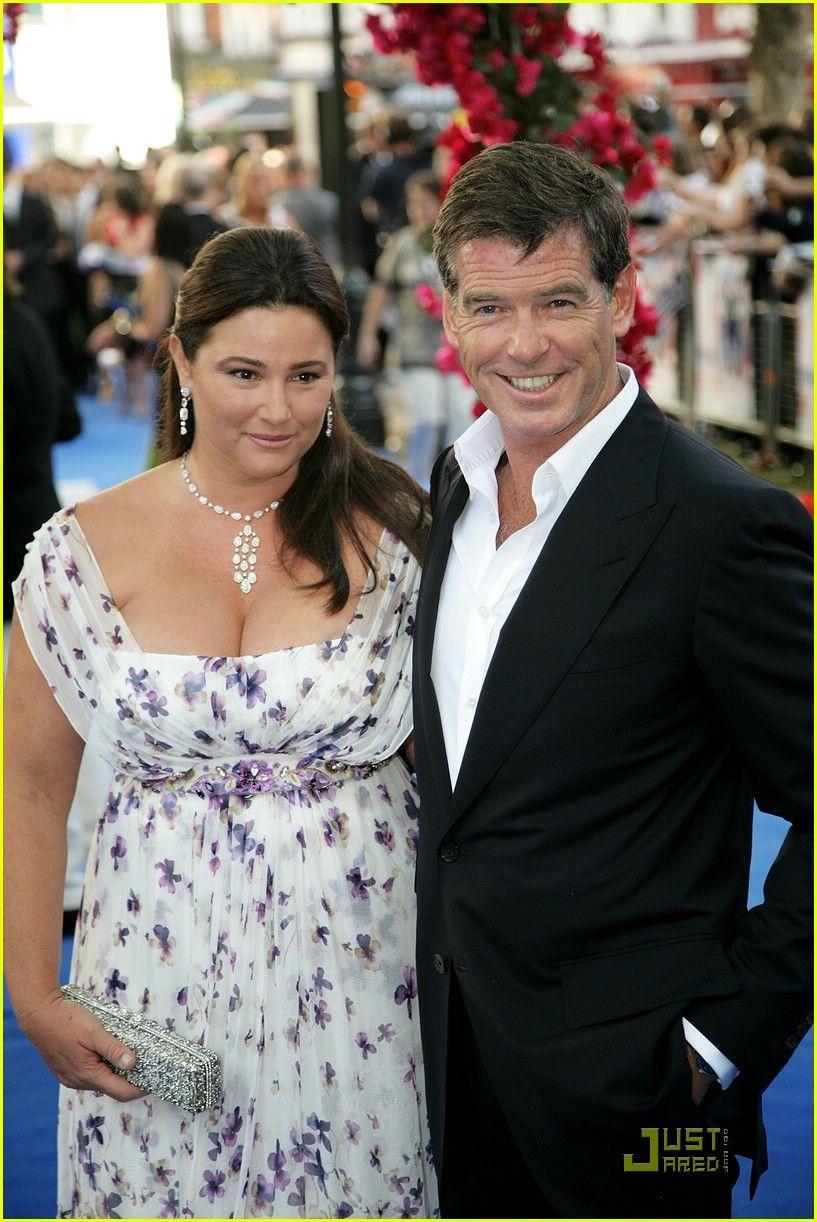Pierce Brosnan wife Ke...
