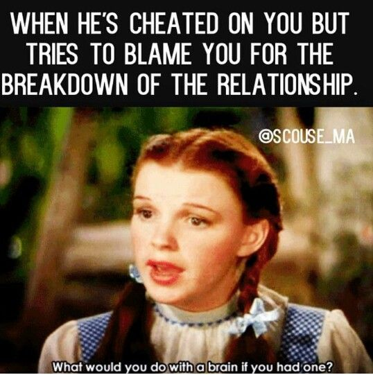 Right you lying ass...bad relationship or not if you're unhappy LEAVE