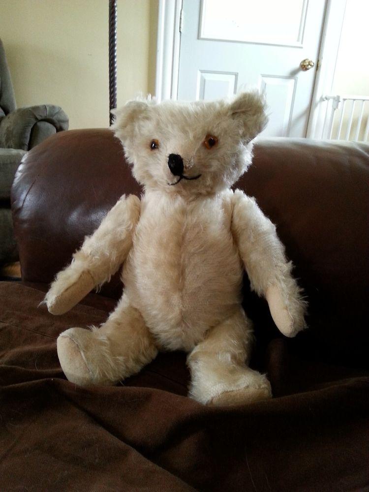 White knickerbocker teddy bear s teddybears