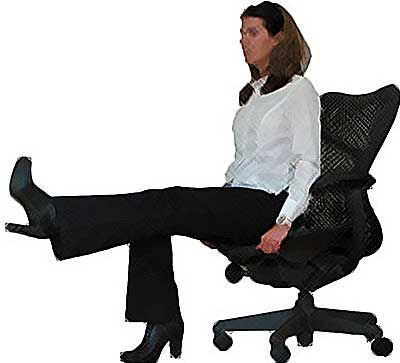 5 Great Exercises To Do In Your Chair While At Work Workout At