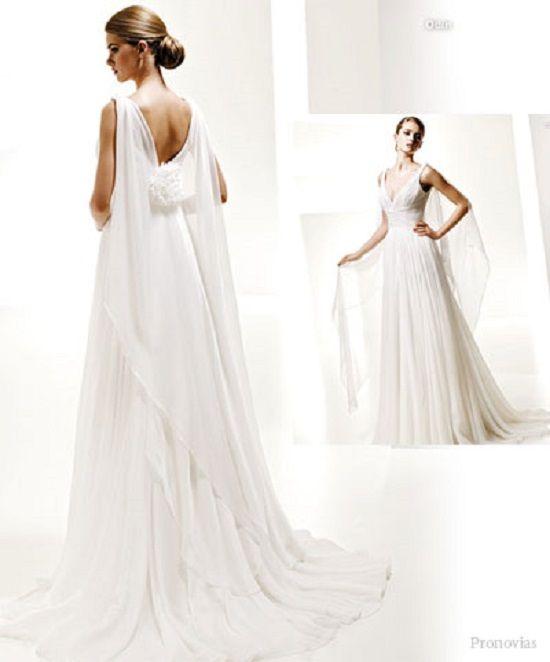 Grecian Gowns Wedding: Greek Goddess Wedding Dress