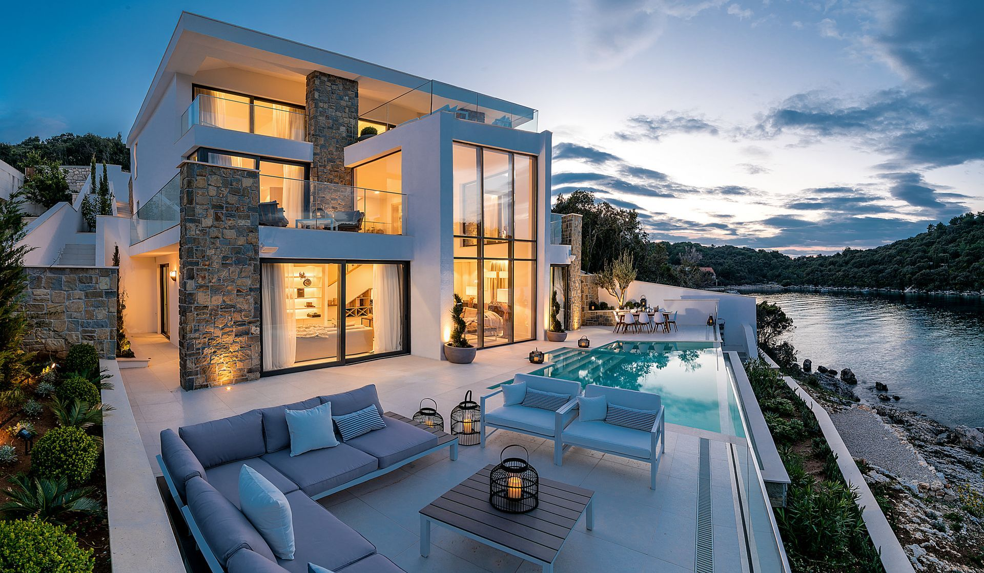 One of the most luxurious villa rentals on the Adriatic