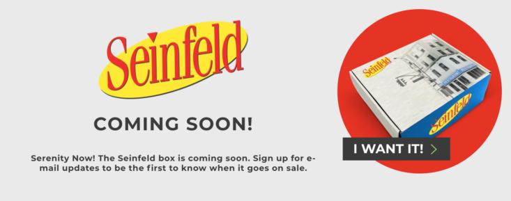The Seinfeld Subscription Box Coming Soon Msa Seinfeld Subscription Box This Or That Questions