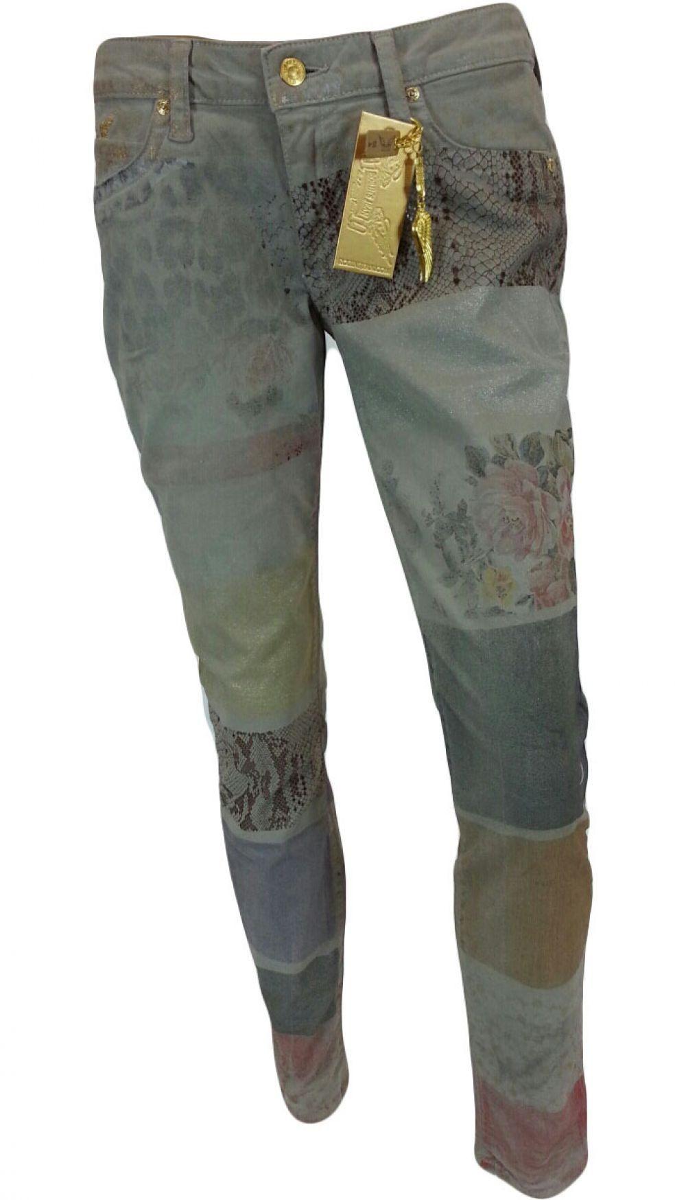 Robin's Jean Women's w/ Aurum Swarovski Zoo Multy Jeans SP8657GLD-2-5 Zoom Light 29