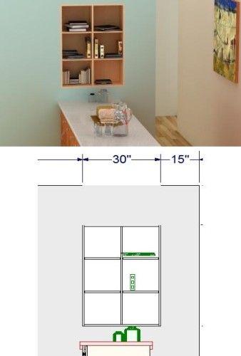 Using the space between wall studs for an IKEA bookshelf is a - küchen regale ikea