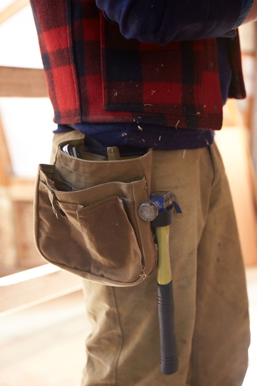 www.Filson.com | Tool Belt Pouch in use at the Northwest School of Wooden Boat Building ...