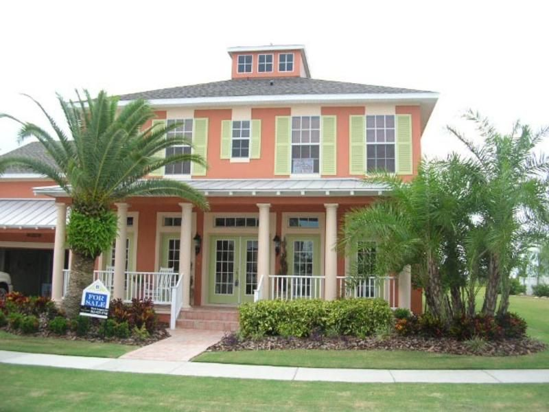 Key West Style Home Designs Ambergris Cay House PlanKey West