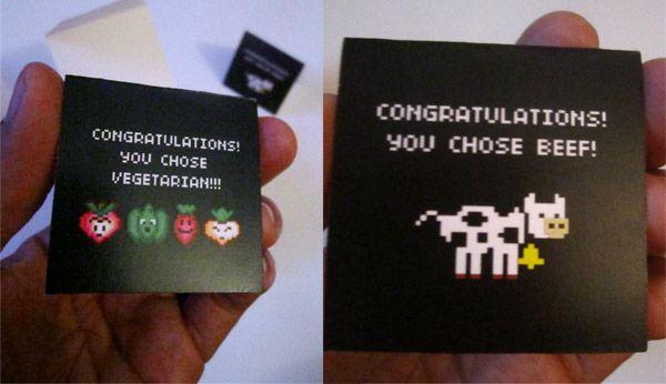 hahahaha video game wedding invitations - Nerdy Wedding Invitations