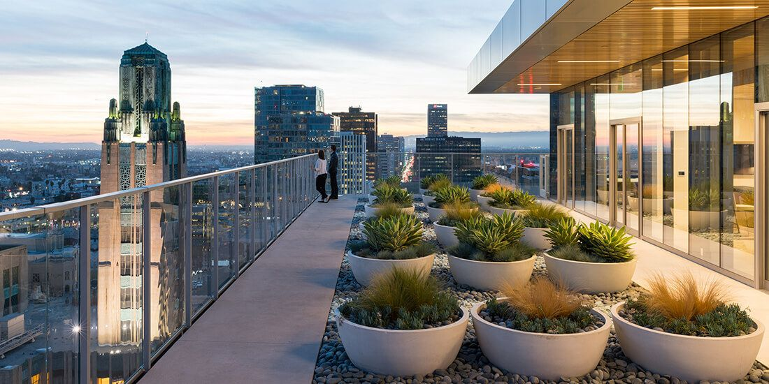 Gallery Of Life On High The Renaissance Of Rooftop Spaces Is Here To Stay 2 Rooftop Garden Modern Garden Rooftop