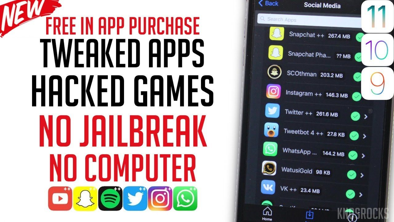 free apps ios 11 no jailbreak