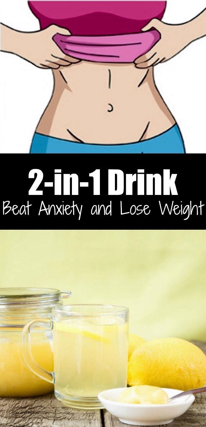 2-in-1 Drink: Beat Anxiety and Lose Weight | Gesundheit und Fitness ...